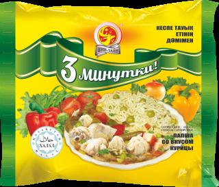 Лапша «3 минутки» со вкусом курицы