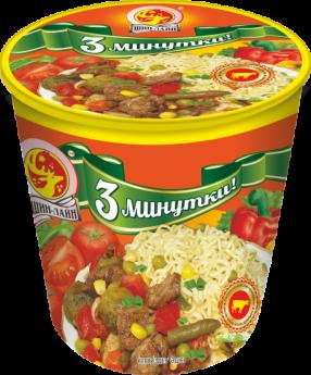 Лапша»3минутки» со вкусом говядины