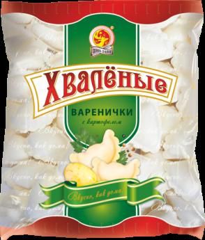 Хваленные с картофелем 0,4 кг