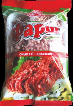 Фарш говяжий в пакете 0,4 кг
