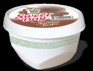 SWEET DAY – мороженое со вкусом кофе латте в мини-ванночке