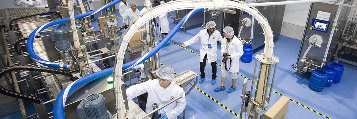 Компания «Шин-Лайн» запустила в Алматы крупнейшую в СНГ и Азии линию для производства мороженого