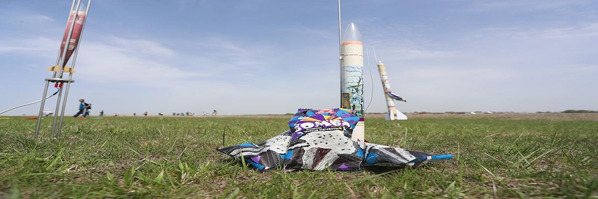 Дети запустили ракету с «Бомбой» радости на борту