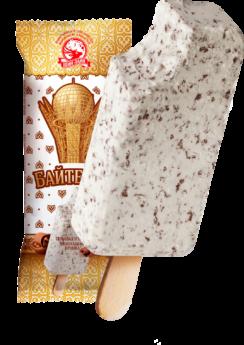 Эскимо с шоколадной крошкой